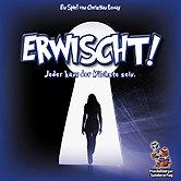 Brettspiele bei AEIOU.DE - Abbildung: Frontcover der Spielbox von Erwischt!