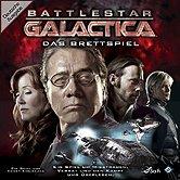 Brettspiele bei AEIOU.DE - Abbildung: Frontcover der Spielbox von Battlestar Galactica