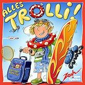 Brettspiele bei AEIOU.DE - Abbildung: Frontcover der Spielbox von Alles Trolli!