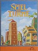 Brettspiele bei AEIOU.DE - Abbildung: Frontcover der Spielbox von Spiel der Türme