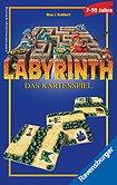 Brettspiele bei AEIOU.DE - Abbildung: Frontcover der Spielbox von Labyrinth - Das Kartenspiel