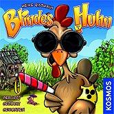 Brettspiele bei AEIOU.DE - Abbildung: Frontcover der Spielbox von Blindes Huhn