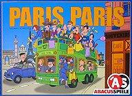 Brettspiele bei AEIOU.DE - Abbildung: Frontcover der Spielbox von Paris Paris