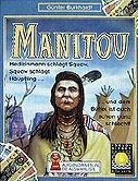 Brettspiele bei AEIOU.DE - Abbildung: Frontcover der Spielbox von Manitou
