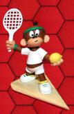 Rezensionen bei AEIOU.DE - Abbildung: Frontcover der Spielbox von Affentennis