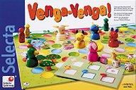 Brettspiele bei AEIOU.DE - Abbildung: Frontcover der Spielbox von Venga-Venga!