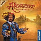 Brettspiele bei AEIOU.DE - Abbildung: Frontcover der Spielbox von Alcazar