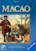 Brettspiele bei AEIOU.DE - Abbildung: Frontcover der Spielbox von Macao
