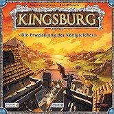 Brettspiele bei AEIOU.DE - Abbildung: Frontcover der Spielbox von Kingsburg - Die Erweiterung des Königreiches