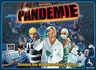 Brettspiele bei AEIOU.DE - Abbildung: Frontcover der Spielbox von Pandemie