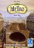 Brettspiele bei AEIOU.DE - Abbildung: Frontcover der Spielbox von Metro
