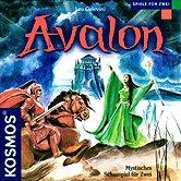 Brettspiele bei AEIOU.DE - Abbildung: Frontcover der Spielbox von Avalon