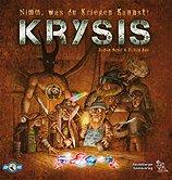 Brettspiele bei AEIOU.DE - Abbildung: Frontcover der Spielbox von Krysis