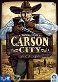 Brettspiele bei AEIOU.DE - Abbildung: Frontcover der Spielbox von Carson City