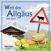 Brettspiele bei AEIOU.DE - Abbildung: Frontcover der Spielbox von Welt des Allgäus