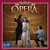 Brettspiele bei AEIOU.DE - Abbildung: Frontcover der Spielbox von Opera