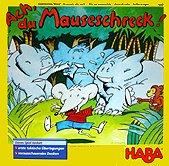 Brettspiele bei AEIOU.DE - Abbildung: Frontcover der Spielbox von Ach, du Mauseschreck!