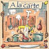 Brettspiele bei AEIOU.DE - Abbildung: Frontcover der Spielbox von A la Carte
