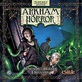 Brettspiele bei AEIOU.DE - Abbildung: Frontcover der Spielbox von Arkham Horror - Kingsport Horror