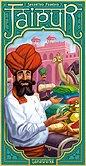 Brettspiele bei AEIOU.DE - Abbildung: Frontcover der Spielbox von Jaipur