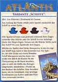 Rezensionen bei AEIOU.DE - Abbildung: Frontcover der Spielbox von Atlantis - Variante Schiffe