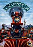 Brettspiele bei AEIOU.DE - Abbildung: Frontcover der Spielbox von Age of Steam