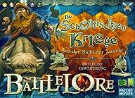 Brettspiele bei AEIOU.DE - Abbildung: Frontcover der Spielbox von Battlelore - Die Schottischen Kriege