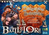 Brettspiele bei AEIOU.DE - Abbildung: Frontcover der Spielbox von Battlelore - Zwergen Batallion
