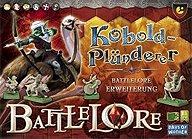 Brettspiele bei AEIOU.DE - Abbildung: Frontcover der Spielbox von Battlelore - Kobold Plünderer