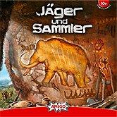 Brettspiele bei AEIOU.DE - Abbildung: Frontcover der Spielbox von Jäger und Sammler
