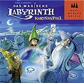 Brettspiele bei AEIOU.DE - Abbildung: Frontcover der Spielbox von Das magische Labyrinth - Kartenspiel
