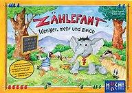Brettspiele bei AEIOU.DE - Abbildung: Frontcover der Spielbox von Zählefant