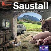 Brettspiele bei AEIOU.DE - Abbildung: Frontcover der Spielbox von Saustall