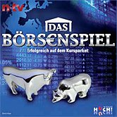 Brettspiele bei AEIOU.DE - Abbildung: Frontcover der Spielbox von Das Börsenspiel