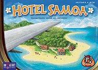 Brettspiele bei AEIOU.DE - Abbildung: Frontcover der Spielbox von Hotel Samoa