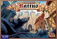 Brettspiele bei AEIOU.DE - Abbildung: Frontcover der Spielbox von Rattus