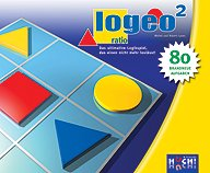 Brettspiele bei AEIOU.DE - Abbildung: Frontcover der Spielbox von Logeo ratio 2