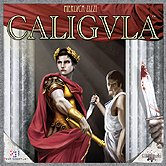 Brettspiele bei AEIOU.DE - Abbildung: Frontcover der Spielbox von Caligula