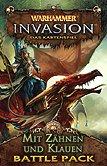 Brettspiele bei AEIOU.DE - Abbildung: Frontcover der Spielbox von Warhammer Invasion - Mit Zähnen und Klauen