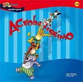 Brettspiele bei AEIOU.DE - Abbildung: Frontcover der Spielbox von Acrobatissimo