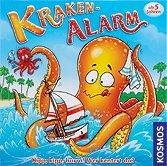 Kraken-Alarm - Kinderspiel - Deutscher Spiele Preis 2010 (Frontcover der Spielbox)