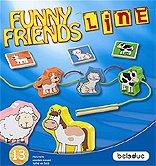 Brettspiele bei AEIOU.DE - Abbildung: Frontcover der Spielbox von Funny Friends Line