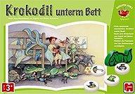Brettspiele bei AEIOU.DE - Abbildung: Frontcover der Spielbox von Krokodil unterm Bett