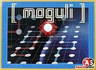 Brettspiele bei AEIOU.DE - Abbildung: Frontcover der Spielbox von Moguli