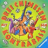 Brettspiele bei AEIOU.DE - Abbildung: Frontcover der Spielbox von Drei Chinesen mit dem Kontrabass