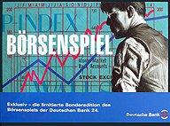 Brettspiele bei AEIOU.DE - Abbildung: Frontcover der Spielbox von Börsenspiel