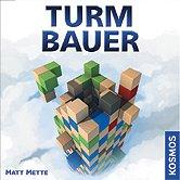 Rezensionen bei AEIOU.DE - Abbildung: Frontcover der Spielbox von Turmbauer
