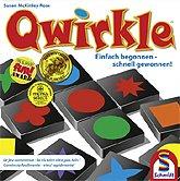 Brettspiele bei AEIOU.DE - Abbildung: Frontcover der Spielbox von Qwirkle - Spiel des Jahres 2011