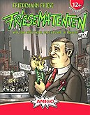 Rezensionen bei AEIOU.DE - Abbildung: Frontcover der Spielbox von Friesematenten - Set 1