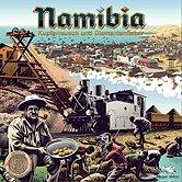 Brettspiele bei AEIOU.DE - Abbildung: Frontcover der Spielbox von Namibia